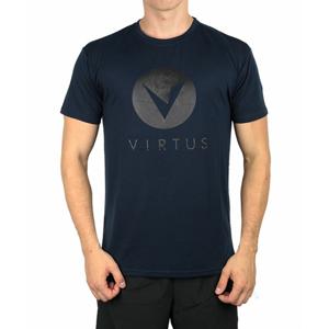 Pánské tričko Virtus Sagay Logo Tee modré