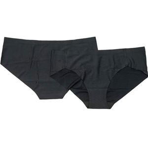 Dámské kalhotky Endurance Aiswood Seamless Hipster 2-pack černé
