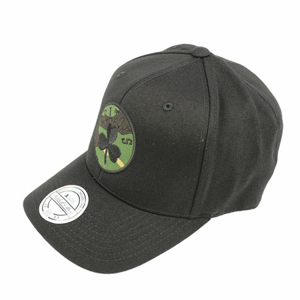 Kšiltovka Mitchell & Ness Camo Logo Snapback NBA Boston Celtics Black