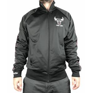 Sportovní bunda Mitchell & Ness Track Jacket NBA Chicago Bulls Black
