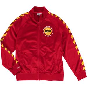 Sportovní bunda Mitchell & Ness Track Jacket NBA Houston Rockets