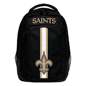 Batoh Forever Collectibles Action Backpack NFL New Orleans Saints