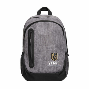 Batoh Forever Collectibles Heather Grey Bold NHL Vegas Golden Knights