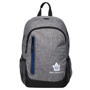 Batoh Forever Collectibles Heather Grey Bold NHL Toronto Maple Leafs