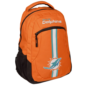 Batoh Forever Collectibles Action Backpack NFL Miami Dolphins