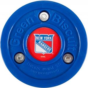 Puk Green Biscuit New York Rangers