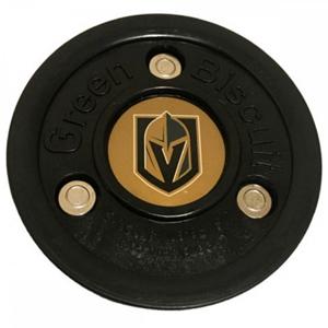 Puk Green Biscuit Vegas Golden Knights