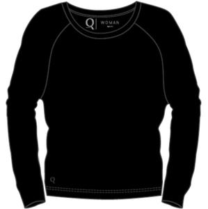 Dámské tričko Endurance Q Cihera LS Tee černé