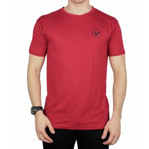Pánské tričko Virtus Joker Melange SS Tee červené