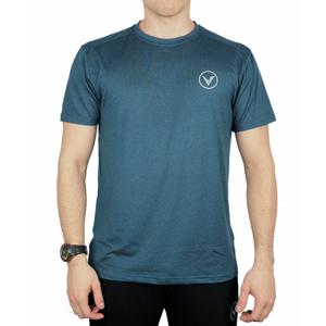 Pánské tričko Virtus Opal Melange SS Logo Tee modré