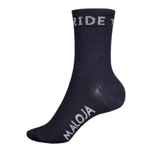Ponožky Maloja RoevelM. tmavě modré