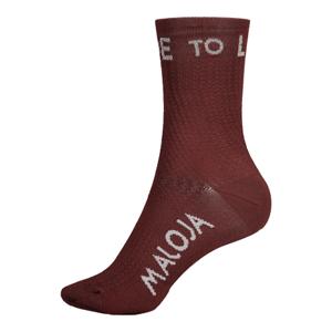Ponožky Maloja RoevelM. červené