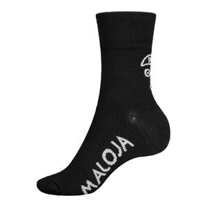 Ponožky Maloja VandasM. černé