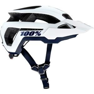Cyklistická helma 100% Altec bílá