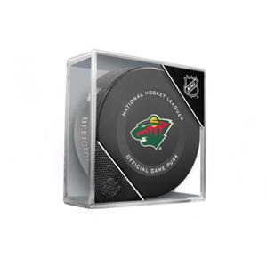 Oficiální puk utkání NHL Minnesota Wild