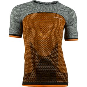 Pánské tričko UYN Running Alpha OW oranžovo-šedé