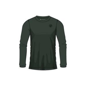 Pánské tričko Virtus Joker LS Tee tmavě zelené