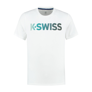 Pánské tričko K-Swiss Hypercourt Tee White
