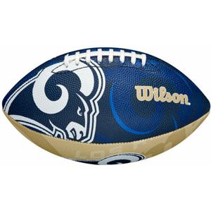 Míč Wilson NFL Team Logo FB Los Angeles Rams JR