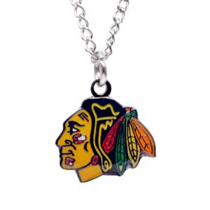 Přívěšek na řetízku NHL Chicago Blackhawks
