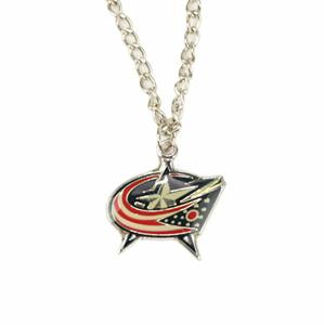 Přívěšek na řetízku NHL Columbus Blue Jackets
