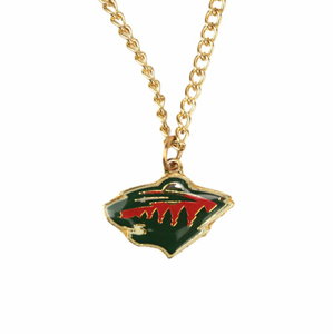 Přívěšek na řetízku NHL Minnesota Wild