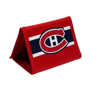Peněženka Tri-Fold Nylon NHL Montreal Canadiens