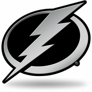 3D chrom znak na auto NHL Tampa Bay Lightning