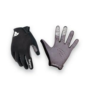 Cyklistické rukavice Bluegrass Magnete Lite černo-bílá