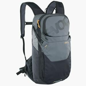 Cyklistický batoh EVOC RIDE 12 + 2L Bladder Carbon grey-black