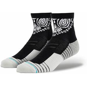 Běžecké ponožky Stance 3Fold QTR černé