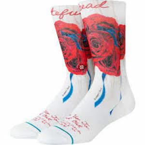 Běžecké ponožky Stance Find Out bílé