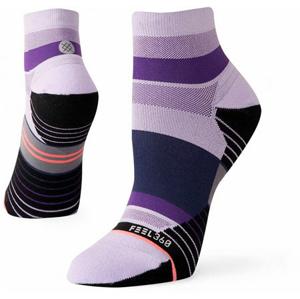 Běžecké ponožky Stance Negative Split QTR fialové