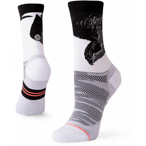 Běžecké ponožky Stance Lauren Fleshman Bird Crew bílé