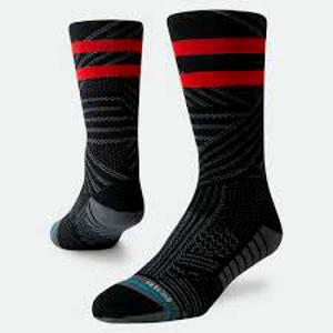 Běžecké ponožky Stance Uncommon Train Crew černé