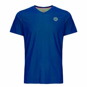 Dětské tričko BIDI BADU Evin Tech Round-Neck Tee Blue/Neon Green