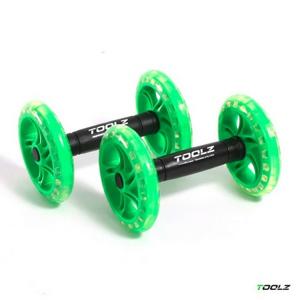 Posilovací kolečka TOOLZ Exercise Wheels
