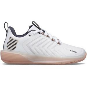 Dámská tenisová obuv K-Swiss Ultrashot 3 White/Peach