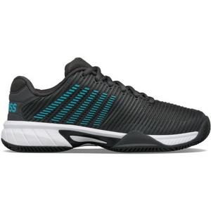 Dětská tenisová obuv K-Swiss Hypercourt Express 2 HB Dark Shadow/Blue