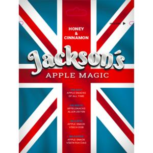Sušený Jablkový Snack s Lesním Medem a Skořicí Jackson's - Apple Honey Cinnamon Magic 30 g