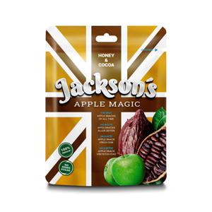 Sušený Jablkový Snack s Lesním Medem a Kakaem Jackson´s  Apple Magic - Cocoa 30 g