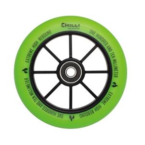 Kolečko Chilli Base 110 mm zelené