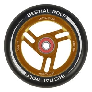 Kolečko Bestial Wolf Race 110 mm černo-oranžové