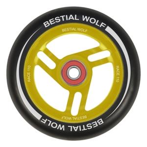 Kolečko Bestial Wolf Race 110 mm černo-žluté