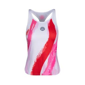Dámské šaty BIDI BADU Amrei Tech Tank White/Red