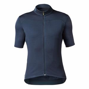 Pánský cyklistický dres Mavic Essential Merino Total Eclipse