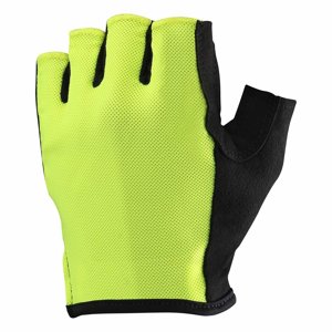 Cyklistické rukavice Mavic Essential Safety Yellow