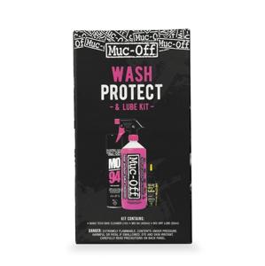 Sada Muc-Off Wash, Protect and DRY Lube Kit