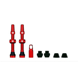 Muc-Off Tubeless Valve Kit 44mm/Red