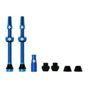 Muc-Off Tubeless Valve Kit 44mm/Blue